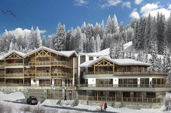 Appartementen Kaprun Glacier Estate