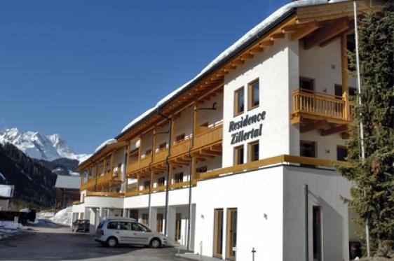 Appartementen Residence Zillertal